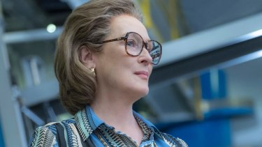 Meryl Streep was cast as Katharine Graham, the revered owner and publisher of <i>The Washington Post</I>, by director Steven Spielberg.