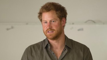 Prince Harry addresses the Southern African Wildlife College, a flagship centre close to Kruger National Park.