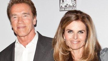 Biggest mistake: Arnold Schwarzenegger with Maria Shriver in 2011.