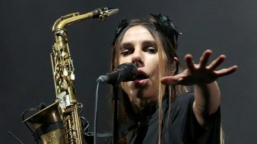 No accident of timing: PJ Harvey.