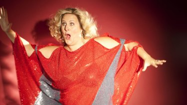Endearing and excruciating: US comedian Bridget Everett.