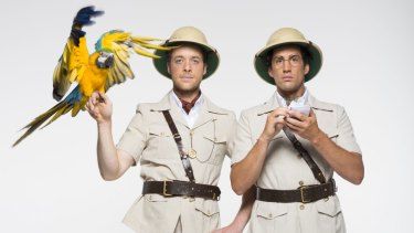 Hamish Blake and Andy Lee headed for South America in 2014 for their gap year series.