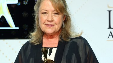 Noni Hazlehurst: only the second woman ever to be inducted into the Logies Hall of Fame.