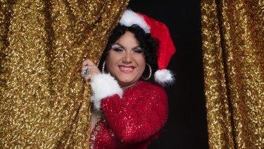 Trevor Ashley, performer and drag artist, will host the Show Queen – Christmas Showcase on December 17.