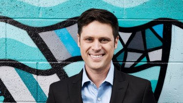 Sacked SBS soccer presenter and journalist Scott McIntyre.
