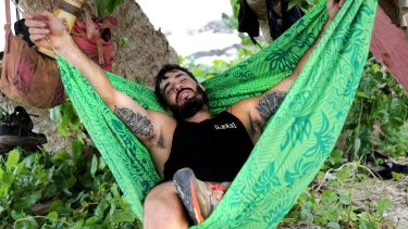 Tarzan thinks Locky poses the greatest danger on Australian Survivor.