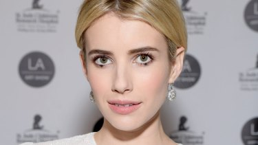 Emma Roberts has been a big fan of adopting the Twiggy technique.