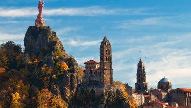 Le Puy-en-Velay, in southern France.
