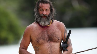 Mark H, or Tarzan as he is known, got dysentery soon after being evicted from Australian Survivor.