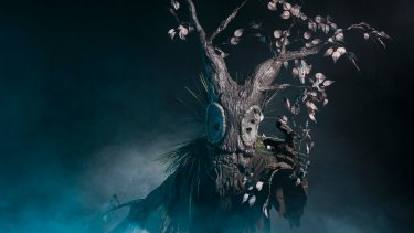 One of the Blanck Canvas puppets in Victorian Opera's Sleeping Beauty.