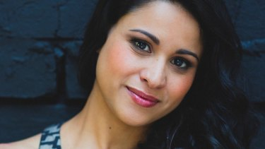 Stacey Alleaume - soprano. Appearing in The Pearlfishers from February. Photo courtesy of Opera Australia.