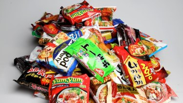 China's instant-noodle makers and importers are struggling to re-start growth.