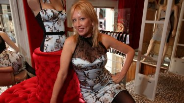 Melanie Greensmith, designer and founder of fashion label Wheels & Dollbaby.
