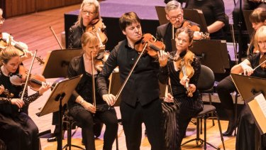 Academy of St Martin in the Fields led by Joshua Bell come together in a true collaboration.