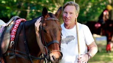 Polo horse breeder and businessman Peter Higgins.