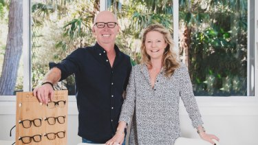 Aaron and Jasmin Telford are the founders of Baxter Blue.