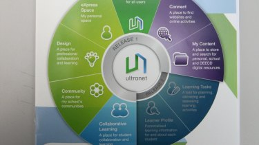 The Ultranet schools IT project was dumped by the Coalition government last year.
