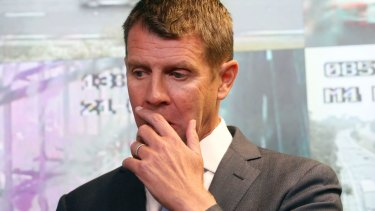 NSW Premier Mike Baird updates the public about the worsening storm.