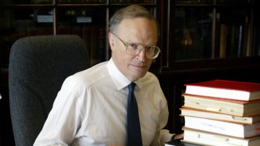 """Claims he """"overlooked"""" the Liberal Party's connection to the Garfield Barwick Address: Dyson Heydon."""