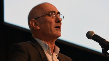 Paul Kelly was honoured at Support Act lunch for services to the Australian community.