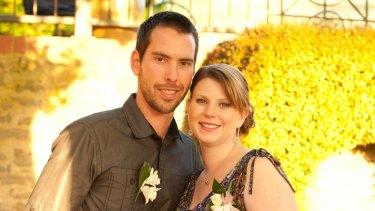 Andrea Lehane with husband James Lehane.