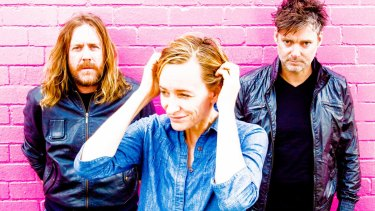 Spiderbait are back on stage in Melbourne.