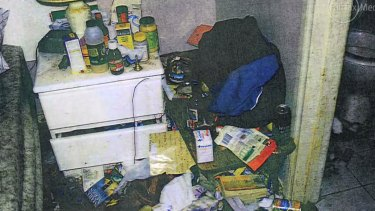 A man whose son dies in their squalid home has been spared any time in jail.