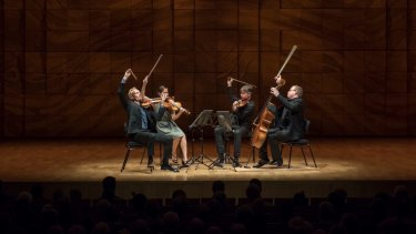 A fine performance from the Australian String Quartet.