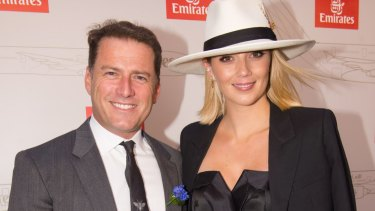 Karl Stefanovic and girlfriend Jasmine Yarlbrough went public with their relationship in February.