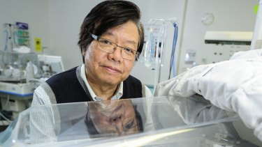 Associate Professor Kei Lui, pictured at the Royal Hospital for Women in Randwick, Sydney, is working to change attitudes on caring for extremely premature babies.