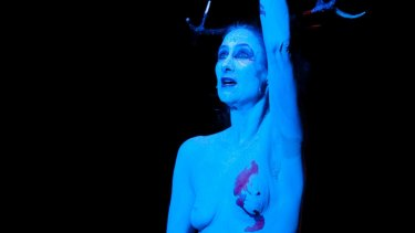 Maude Davey in <i>My Life in the Nude</I>: 'The thing about a naked body is it tells the truth. It can't do anything else.'