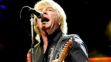 Rick Parfitt performs with Status Quo at The Prince's Trust Rock Gala at London's Royal Albert Hall in 2010.
