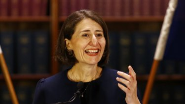 New NSW Premier Gladys Berejiklian has floated the possibility of an about turn on the contentious issue of council amalgamations.