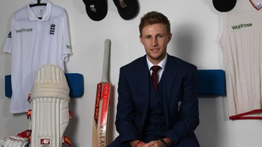 Saying all the right things: Joe Root.