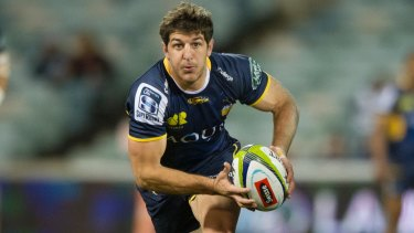Starting for Argentina: Tomas Cubelli who played for the Brumbies in Super Rugby this year.