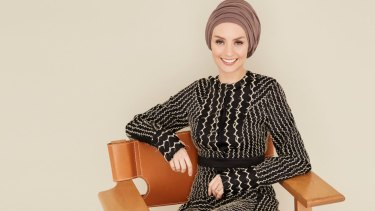 Susan Carland in her Sunday Life shoot.