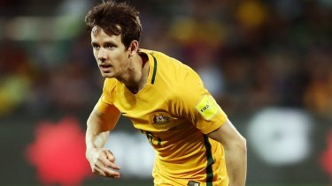 Key man: Robbie Kruse shone at Allianz Stadium with two assists.