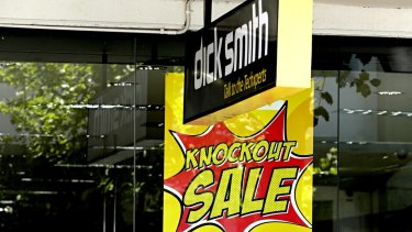 With disappointing Christmas sales, Dick Smith felt the crunch in the new year.