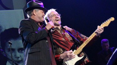 Micky Dolenz and Peter Tork from the Monkees are back on the road.