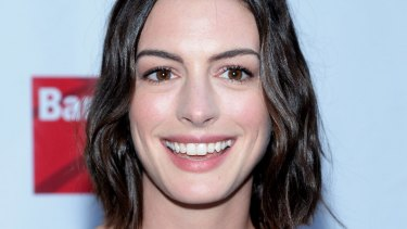 Taking on Amnesty: Anne Hathaway and other celebrities.