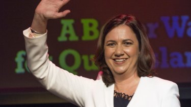 Labor leader Annastacia Palaszczuk will be Queensland's 39th premier, early exit polls suggest.