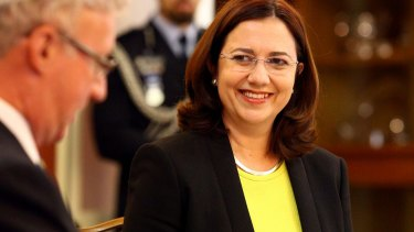 When Premier Annastacia Palaszczuk was sworn in she headed a Cabinet where a majority of ministers were women.