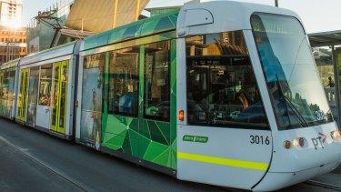 Tram model D2 5001