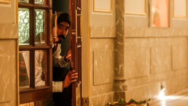 Dev Patel as Arjun in <I>Hotel Mumbai</I>, set for release in 2018.