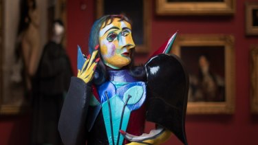 A Picasso comes to life in Opera Australia's Il Viaggio a  Reims. Photographed at the National Gallery of Victoria.