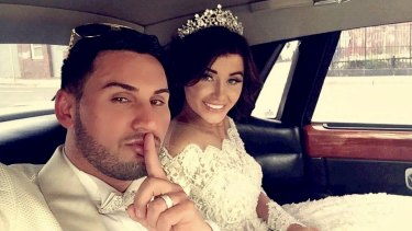 Mehajer and his wife Aysha pictured at their wedding in August 2015.