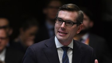 Treasurer Dominic Perrottet says despite the budget result NSW is facing revenue pressures.