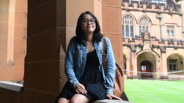 Engineering student Isabella Juriya found that she was one of three female students in a group of 20 at the University of Sydney.