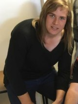 Hannah Mouncey has nominated for the AFLW draft.