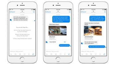 "Facebook's ""M"" digital assistant service will live inside Facebook Messenger, which is used by more than 700 million people."